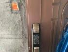 东区修开换C级锁芯指纹锁三星728办公司门禁系统
