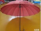 16骨玻纤架烤黑漆中棒直杆伞