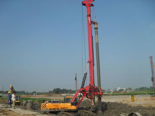 贵港市玉林市中联重科旋挖桩机公司承接旋挖桩机旋挖桩业务