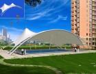专业设计露天游泳池膜结构遮阳景观棚生态公园张拉膜结构景观棚