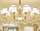 郑州客厅吊灯价格建材批发水晶吊灯安装