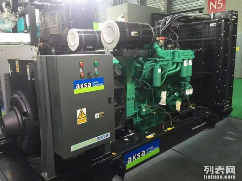 乌鲁木齐柴油发电机出租1000,800千瓦发电机出租