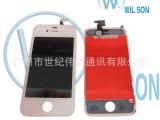 供应手机显示屏 苹果液晶总成 iphone4液晶总成 iphon
