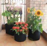 青島博菲特黑色注塑花盆, 塑料育苗花盆,出口加仑盆,