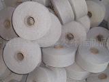 厂家直销6s-9s本白棉纱 手套纱再生棉纱 本白低捻手套棉纱