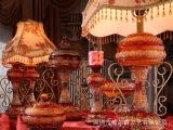 供应家居灯具 欧式台灯 玫瑰灯饰 艺术灯饰