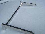 供应三角铝槽服装展示侧挂架 厂家专业定制