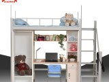 学生寝室宿舍床二人上下铺连体床