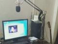 网络k歌主播专业录音艾肯外置声卡,耳麦,电容麦克风