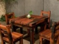 三明老船木办公家具中式电脑桌实木茶桌茶台简约沙发茶几餐桌酒吧台博