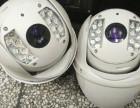 海康威视网络球机摄像头360度旋转2枚