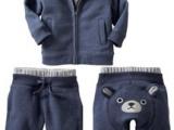 婴儿服装童装GAP同款儿童棉衣宝宝衣服加厚套装秋冬DTZ003