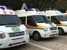 救护车长途转送病人老人