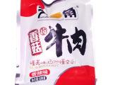 休闲食品 天一角香菇卤牛肉 香辣味 独立小包装 一箱10斤