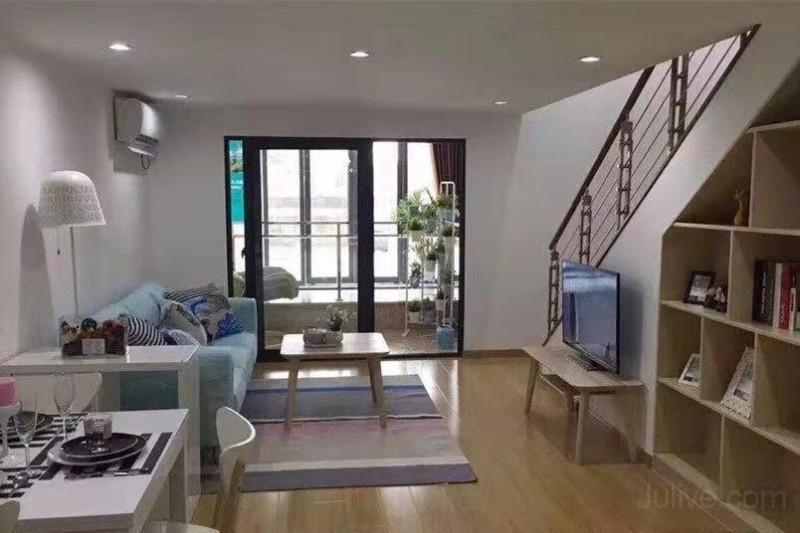 9号线地鉄口通燃气,复式公寓,不限贷,双卫设计外阳台