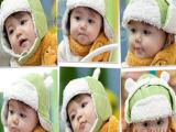 儿童帽子批发 新款韩版童帽 毛绒宝宝帽子 5色雷锋帽