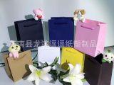 礼品纸袋定制 环保白卡纸袋 宣传促销广告袋 手提购物袋来图定制