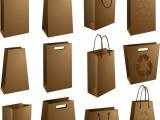 成都印刷厂250克白卡手提袋定做 高档服装纸袋 购物手提袋印刷