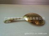 新款镀金304不锈钢网状滤冰器 网勺过滤器 勺子滤冰器