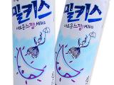韩国进口饮料批发LOTTE乐天牛奶苏打水