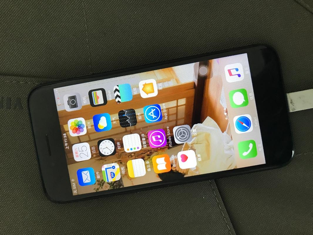 转128G国行磨砂黑iPhone7!