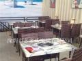 供应大理石火锅桌 电磁炉火锅桌 自动硝烟碳烤桌