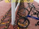 公园都在使用的自行车停车架