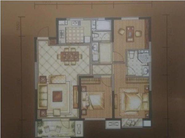 铁西二环内兴隆大天地旁 龙湖西府原著 三室南北97万品质住宅