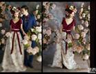 邛崃古摄影如何让娇小新娘变高挑的方法