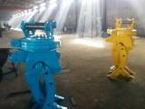 华峰机械直销专业定做360度旋转液压片式夹木头抓木机