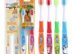 HM-202卡通手柄2支装 儿童牙刷批发 韩国 赠品 促销礼品 高性价比
