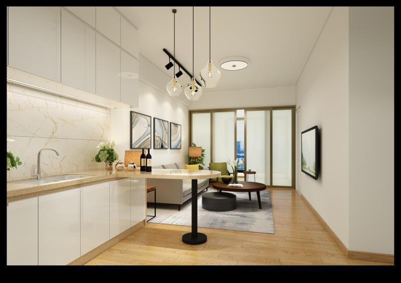龙湖东海岸御海阳光铂金公寓 2室 2厅 70平米 整租