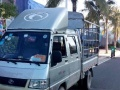 小型货车双排座2.5米长.1.5米宽车厢