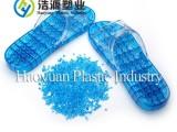 全新欧盟环保级别 改性软质透明pvc颗粒 pvc拖鞋料