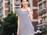 天猫女装 夏季女装新款纯棉 日韩原单外贸大码品牌女装 短袖t恤女