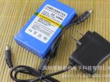 12V锂电池4800毫安 无线监控摄像头电池 充电电池  锂聚合