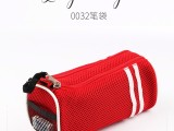 廠家直銷帆布筆袋 學生文具收納創意多層簡約大容量帆布筆袋
