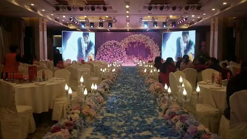 婚庆策划 12岁生日 气球造型 灯光音响 气球拱门