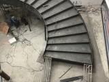 成都都江堰铁艺旋转楼梯