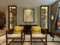 现代中式叠拼别墅设计 渝北天古装饰融创御苑装修