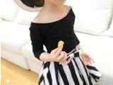 童装一件代发批发美童裙2014 童装 **定制款赫本复古蓬蓬叉兜