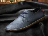 2015新款夏季男士商务正装皮鞋休闲真皮系带透气男鞋潮流低帮皮鞋