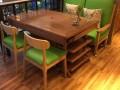 北欧板式火锅店餐桌定做 西餐厅火锅桌板式火锅桌定做生产厂家