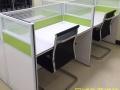 重庆顺通厂家直销前台桌钢架桌员工桌会议桌定制办公屏风