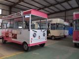 欧准新能源移动餐车厂家上海移动餐车定制