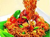 印尼进口零食品Sedaap喜达香辣捞面速食方便面88g干拌面