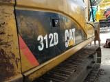 二手挖掘机卡特312D 手续齐全 全国包送到家