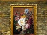 林美艺术古典欧式花卉手绘油画 高品质出口室内油画装饰 0004