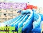 天蕊游乐室外大型水上游乐场支架游泳池充气水滑梯加厚pvc