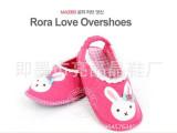 外贸原单卡通小兔室内儿童地板鞋 出口韩国软底宝宝鞋 厂家直销
